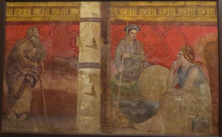 Pompeii In A Nutshell Paintings