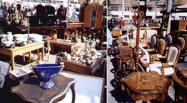 Days of peace at the flea market of porta portese - Porta portese roma case ...