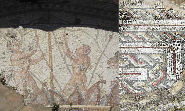 Mosaics In A House Behind The Southern Baths