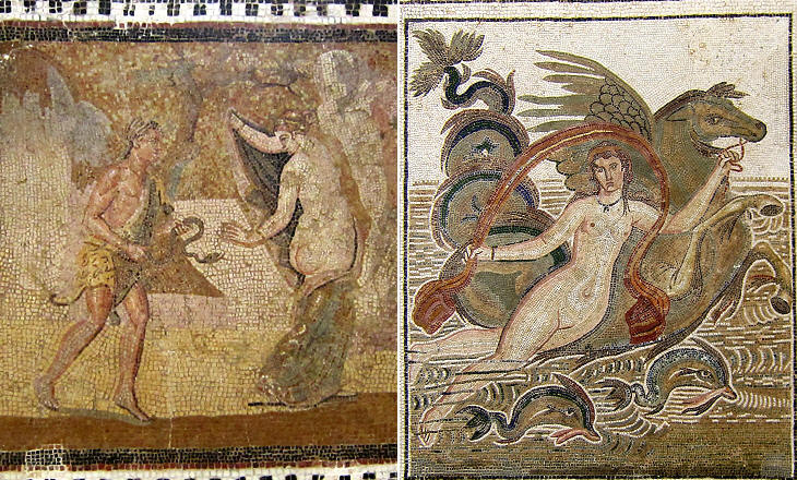 Sexual mosaics in ancient rome
