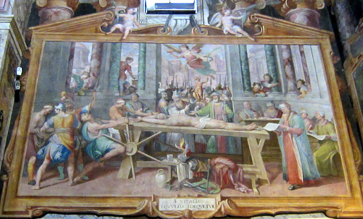 Torture and Death in the Churches of Rome