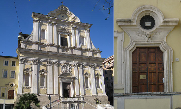 "Результат пошуку зображень за запитом ""santa maria delle grazie alle fornaci roma"""