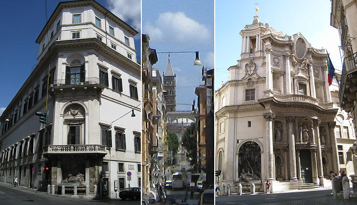 Piazza Delle Quattro Fontane
